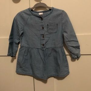 Carter's Size 12 Mons Jean Long Sleeve Tunic GUC